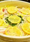 【塩レモンミルフィーユ鍋】塩レモン鍋