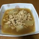 優し〜い味♡①冬瓜と鶏挽肉の煮物