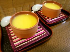 簡単・紅茶パンナコッタ♡オレンジソース
