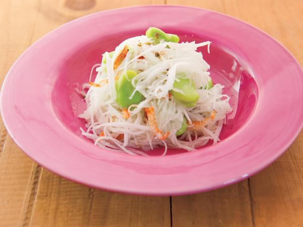 大根と桜海老のサラダ