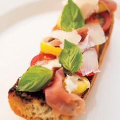 タプナード・ミニュイットのサンドイッチ