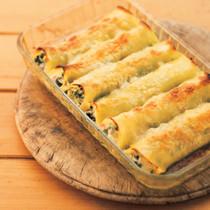 小松菜のカネロニ