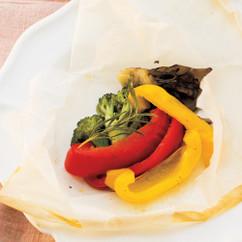 野菜のパピヨット