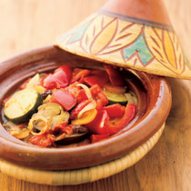 野菜のスパイス風味タジン蒸し
