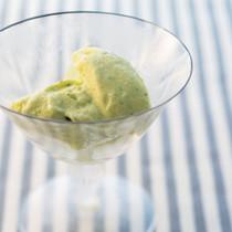 セロリのアイスクリーム