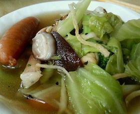 切干大根のスープ
