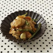 鶏肉の青唐辛子煮