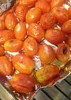 グリルで焼きトマト