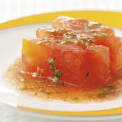 トマトとオレンジの煮擬り