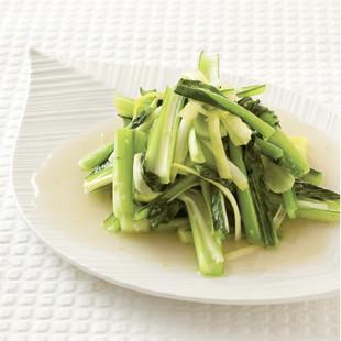 小松菜のワサビ炒め