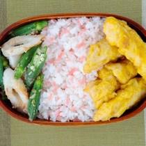 ささ身のカレー天ぷら弁当