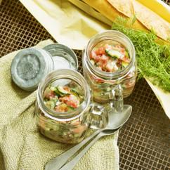 トマトガスパチョ風サラダ