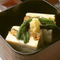鰻豆腐 薄葛仕立て