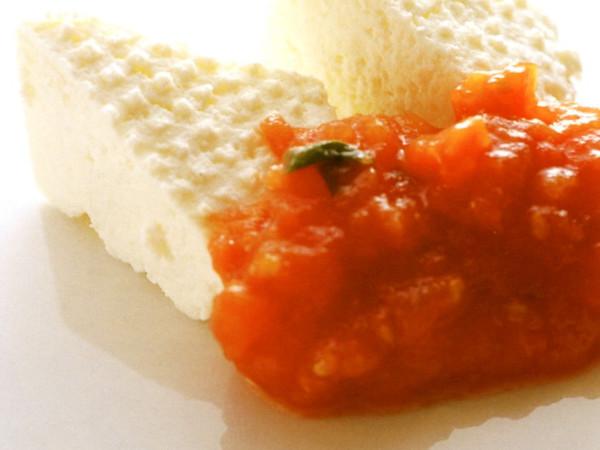手づくりリコッタチーズ