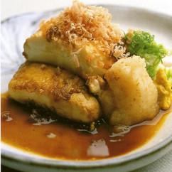 豆腐照り焼きステーキ
