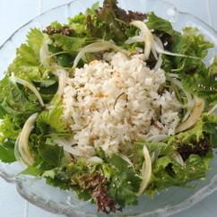 炊き込みご飯サラダ仕立て