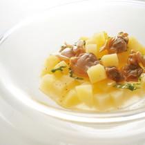 ジャガイモのブイヨン煮 ブールフォンデュ