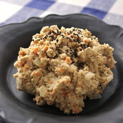 栄養たっぷり米ぬか煮物