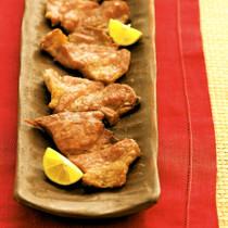 【ロース肉】塩豚のグリル焼き