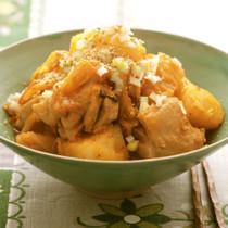 【鶏もも肉】カムジャタン風煮