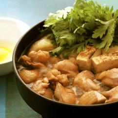【鶏もも肉】鶏すき焼き
