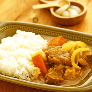 【角切り肉】昭和のカレーライス