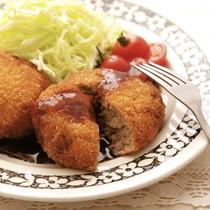【ひき肉】鶏メンチ