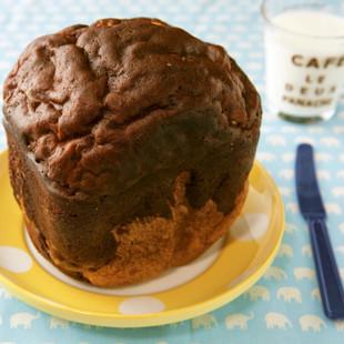 チョコトッピングのパン