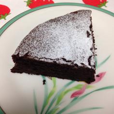 濃厚ガトーショコラ(レシピ写真付き)