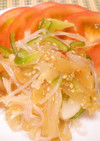 中華クラゲと春雨のサラダ