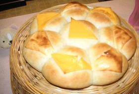 トリプルチーズ♪パン
