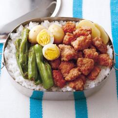 台湾風豚の甘辛煮弁当