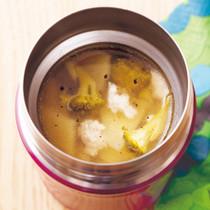 ブロッコリーのコンソメスープ