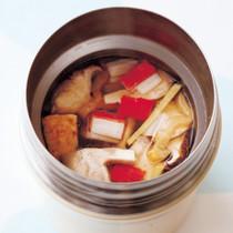 厚揚げの中華スープ
