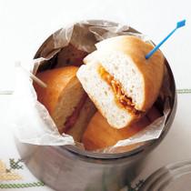 ピーナッツバターフレークサンド