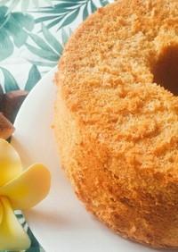 ホケミで簡単バナナシフォンケーキ