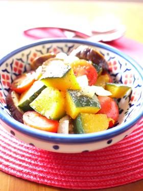レンジで♪作り置き☆彩り野菜のマリネ