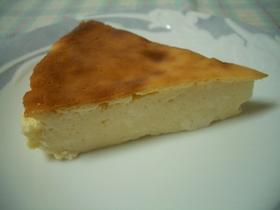 混ぜるだけ♪簡単ベークドチーズケーキ