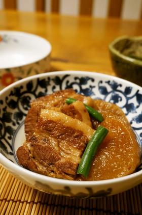 簡単☆柔らか~い☆豚バラ肉と大根の煮物