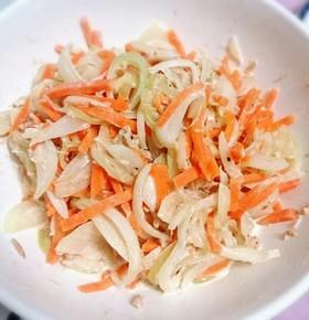玉ねぎと人参の簡単サラダ