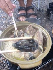 すっぽん鍋の写真