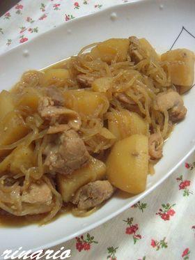 ✿鶏じゃがゴマゴマ風味煮✿