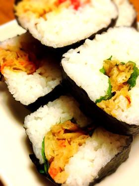 天ぷら巻き寿司