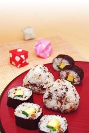 紅ちゃん巻き寿司の写真