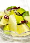 簡単◎旬の梨とアボカドのフルーツサラダ