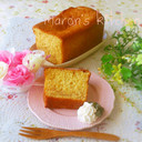簡単♡梨のキャラメルパウンドケーキ