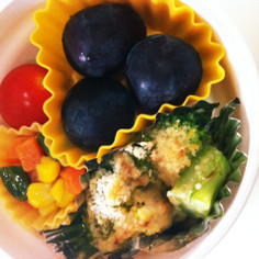 お弁当に♡ブロッコリーのマヨネーズ焼き