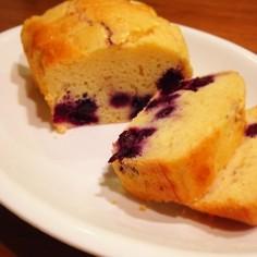 簡単!ブルーベリーヨーグルトケーキ!