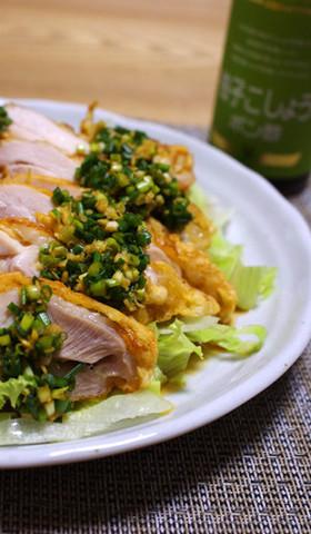カリッとジューシー☆柚子胡椒風味の油琳鶏