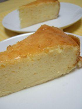 あっさり簡単☆ベイクドチーズケーキ♪